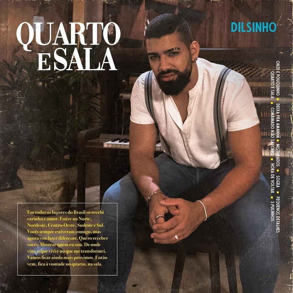 """Dilsinho divulga a capa do novo CD """"Quarto e Sala"""""""