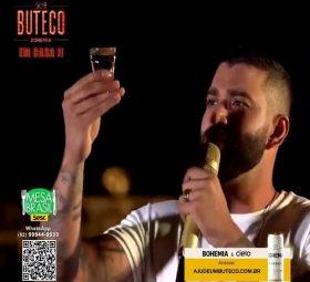 Gusttavo Lima é investigado por suposto abuso de bebidas alcoólicas em lives shows 2020