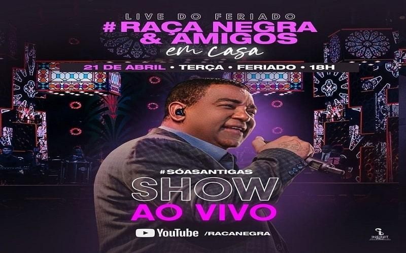 """Raça Negra Anuncia Live e """"Trava"""" a Internet"""