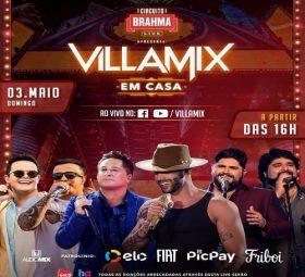 AO VIVO assista agora a 2º edição do Villa Mix em Casa, 03