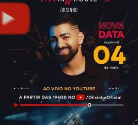 AO VIVO assista agora a live com o cantor Dilsinho, 04