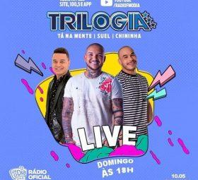 AO VIVO assista agora a live com o projeto Trilogia, 10