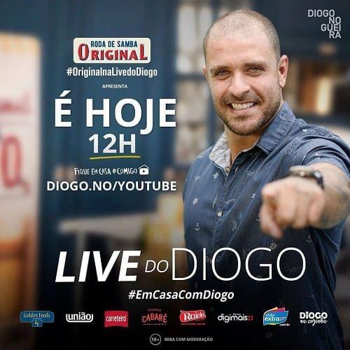 AO VIVO assista agora a live do Diogo, 17