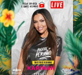 Karinah promove 'esquenta' no Canal do Pericão, 07