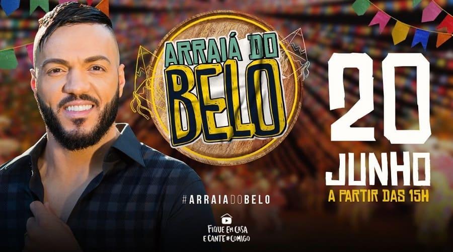 """Vem aí a live """"Arraiá do Belo"""""""