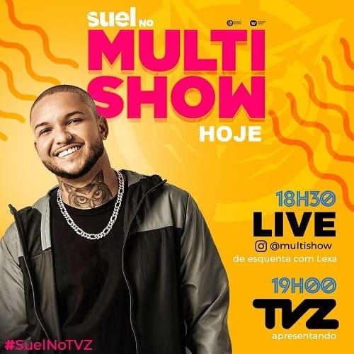 Melim e Suel são os convidados do TVZ desta semana, na TV e no digital