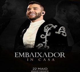 Teremos a terceira live do Embaixador Gusttavo Lima sim!, 22